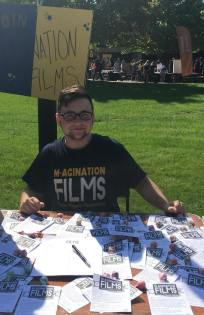 Vice President Max Anthony at North Fest